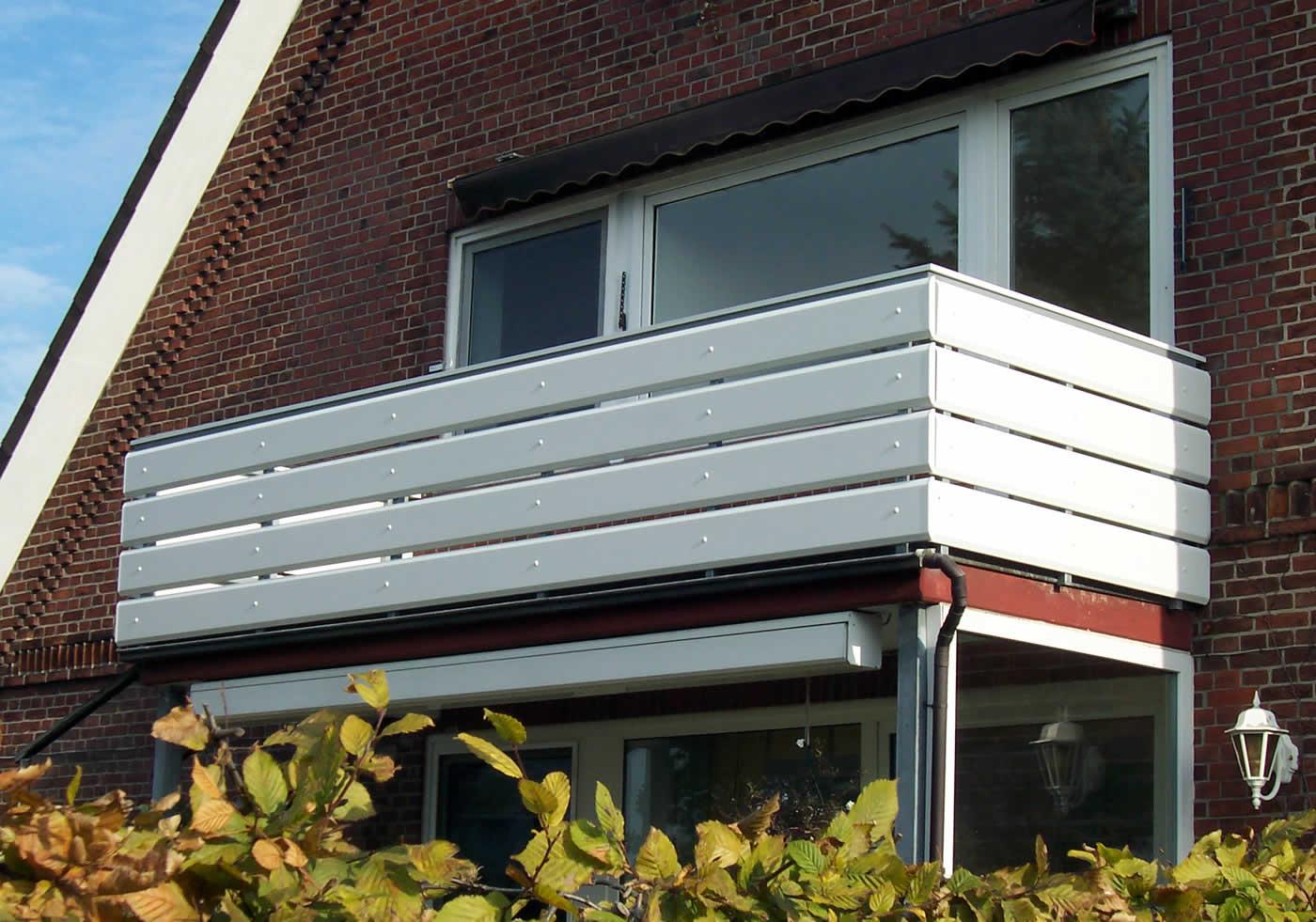 Balkonprofile Aus Kunststoff Und Aluminium